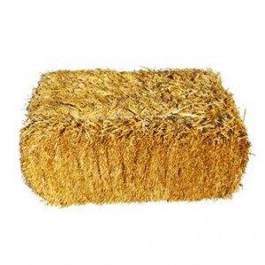 Тюк соломы пшеничной